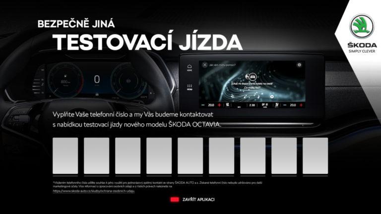 HbbTV aplikace Škoda Octavia